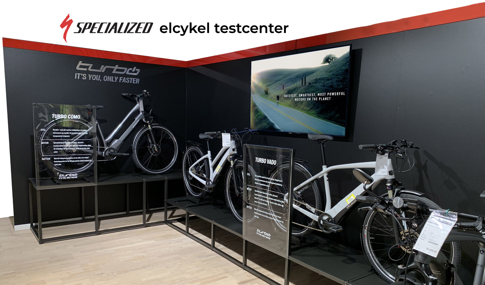 Elcykler fra Specialized Concept Store